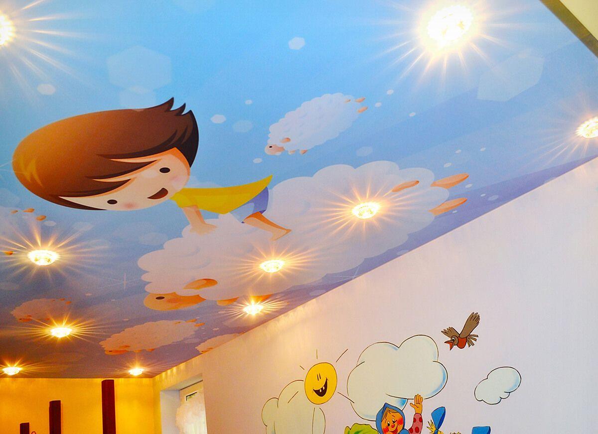 Картинка для натяжного потолка в детскую