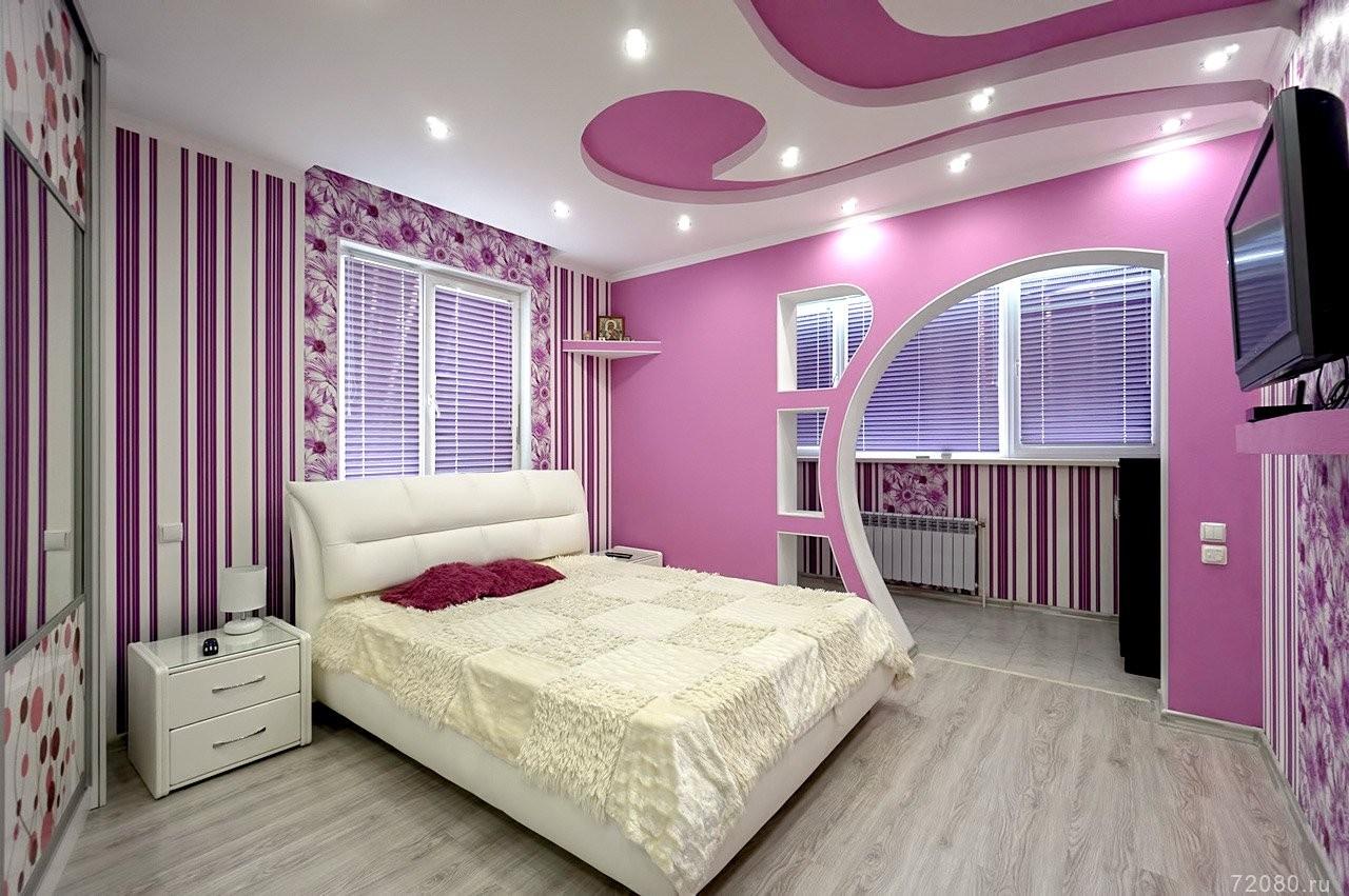 двухуровневые натяжные потолки для спальни фото дневное уличное освещение